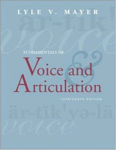 9780072887143: Fundamentals of Voice and Articulation with CDROM