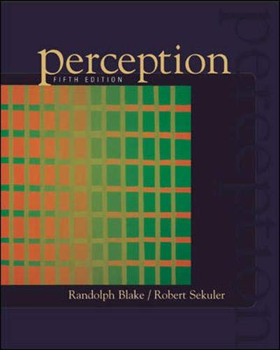 9780072887600: Perception