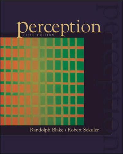 9780072887600: Perception
