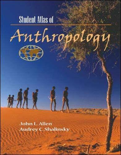 9780072889857: Student Atlas of Anthropology