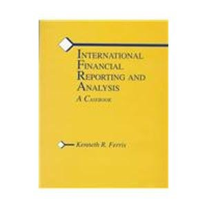 9780072891423: International Financial Reporting and Analysis