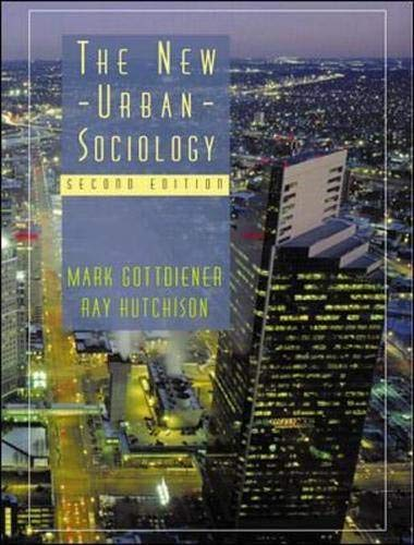 9780072891805: The New Urban Sociology