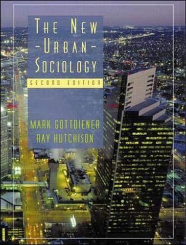 9780072891805: The New Urban Sociology