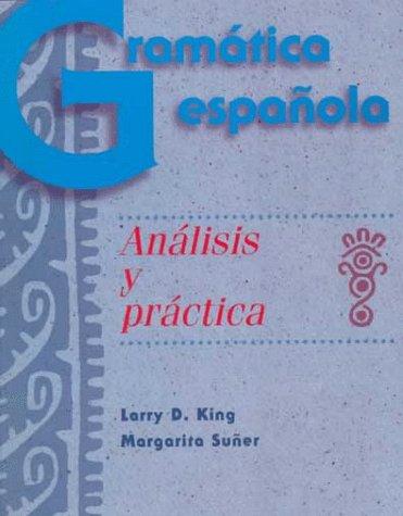 9780072891843: Gramatica Espanola: Analisis y Practica