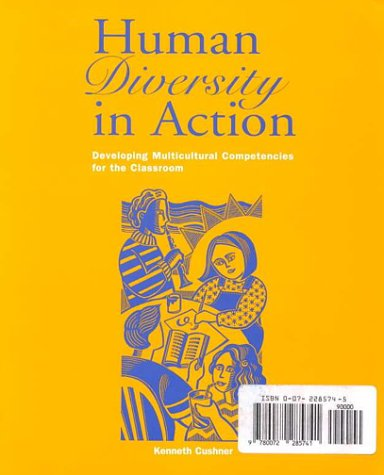 9780072893717: Human Diversity in Action: Developing Multicultural Competencies for the Classroom