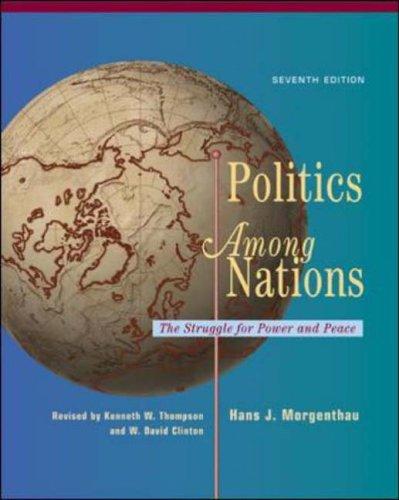 9780072895391: Politics Among Nations