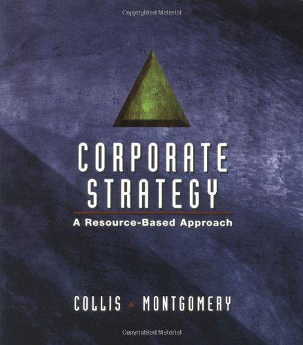 9780072895438: Corporate Strategy: A Resource Based Approach