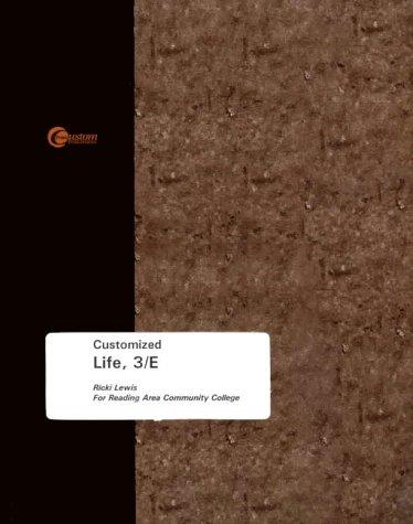 Life (0072895519) by Lewis, Ricki