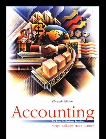 9780072897098: Accounting: The Basis for Business Decisions (Accounting, the Basis for Business Decisions, 11th ed)
