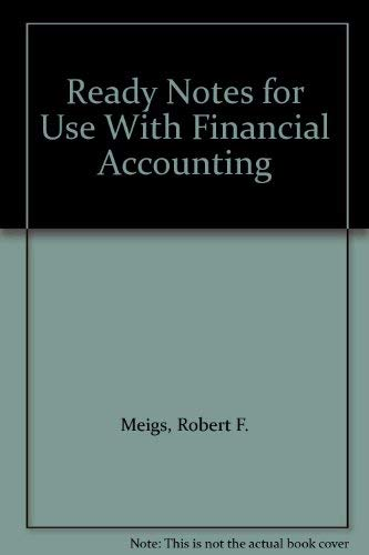 9780072897173: Ready Notes for Use With Financial Accounting