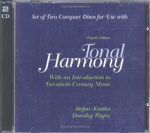 Audio CDs For Use with Tonal Harmony: Payne, Dorothy, Kostka,
