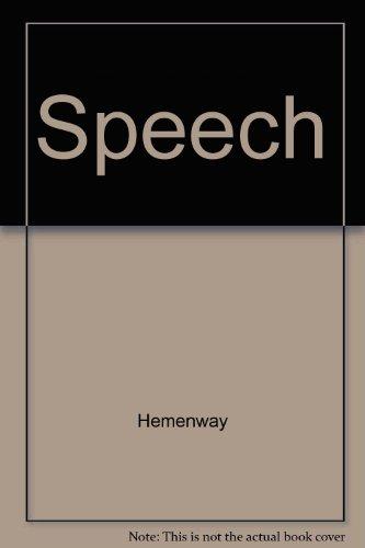 9780072898057: Speech