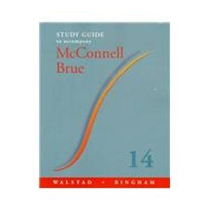 9780072898378: Study Guide to Accompany McConnell and Brue Economics
