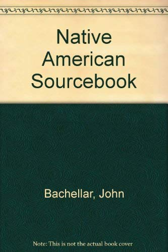 9780072899016: Native American Sourcebook