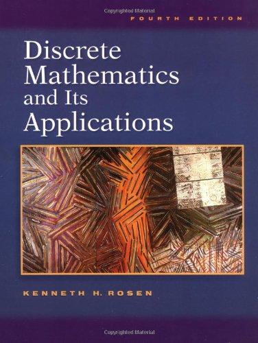 9780072899054: Discrete Mathematics and Its Applications