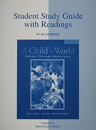 9780072901573: Student Study Guide With Readings to Accompany a Child's World