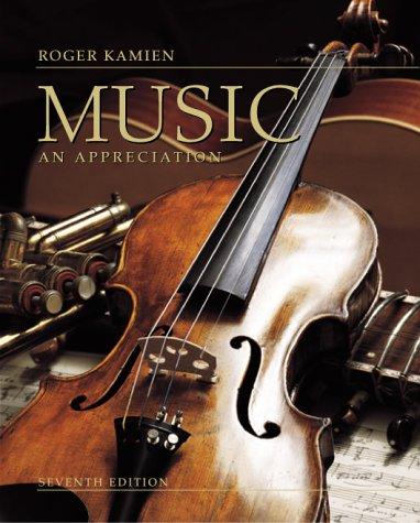 9780072902006: Music: An Appreciation