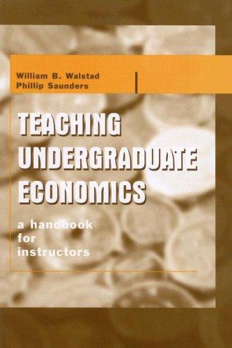 9780072902464: Teaching Undergraduate Economics:  A Handbook for Instructors