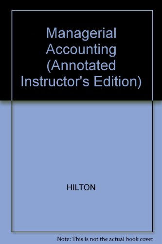 9780072902914: Managerial Accounting