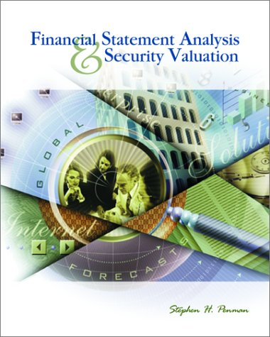 9780072903331 Financial Statement Analysis And Security Valuation