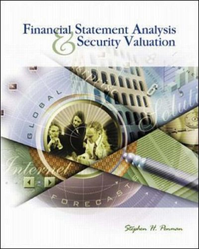 9780072903331: Financial Statement Analysis and Security Valuation