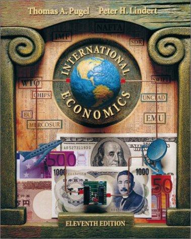 9780072903874: International Economics