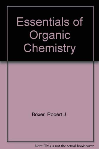 9780072904048: Essentials of Organic Chemistry