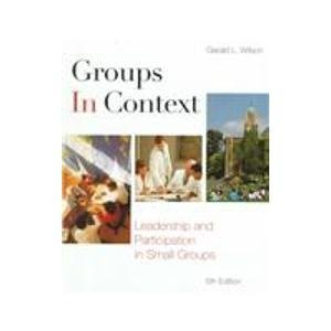 9780072904369: Groups in Context