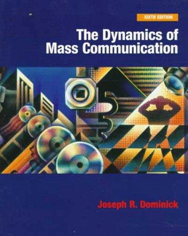 9780072904789: Dynamics of Mass Communication