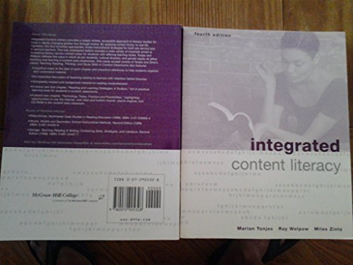 9780072905328: Integrated Content Literacy