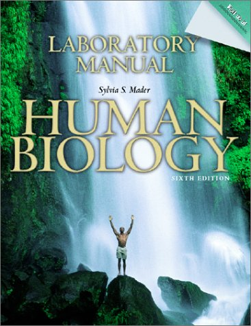 9780072905854: Lab Manual to accompany Human Biology