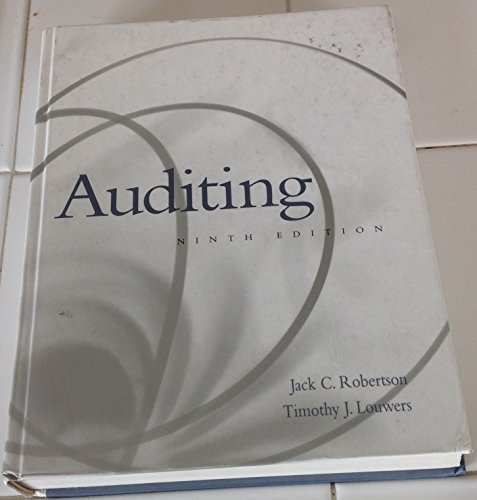9780072906950: Auditing
