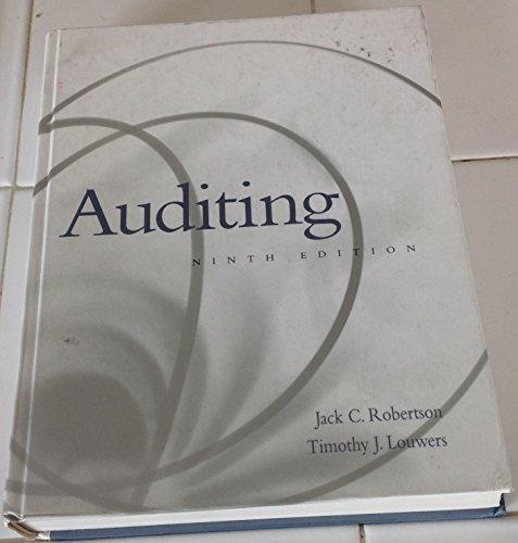 9780072906950: Auditing