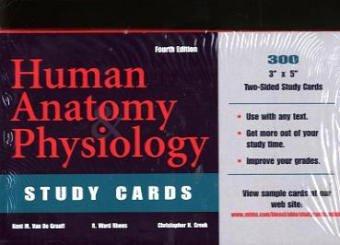 9780072908183: Human Anatomy & Physiology: Study Cards