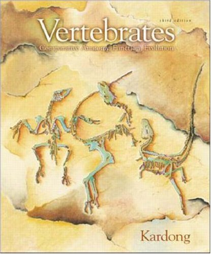 9780072909562: Vertebrates: Comparative Anatomy, Function, Evolution