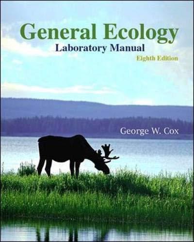 9780072909746: General Ecology Laboratory Manual