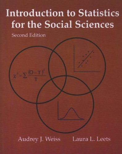 9780072909852: Introduction to Statistics for the Social Sciences, 2nd Edition