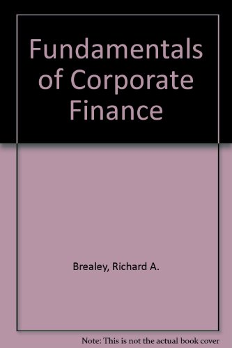 9780072909883: Fundamentals of Corporate Finance