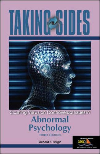 9780072917093: Taking Sides: Clashing Views on Controversial Issues in Abnormal Psychology (Taking Sides: Abnormal Psychology)