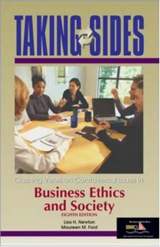 9780072917192: Taking Sides: Clashing Views on Controversial Issues in Business Ethics and Society