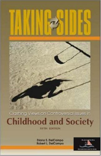 9780072917253: Taking Sides: Clashing Views on Controversial Issues in Childhood and Society