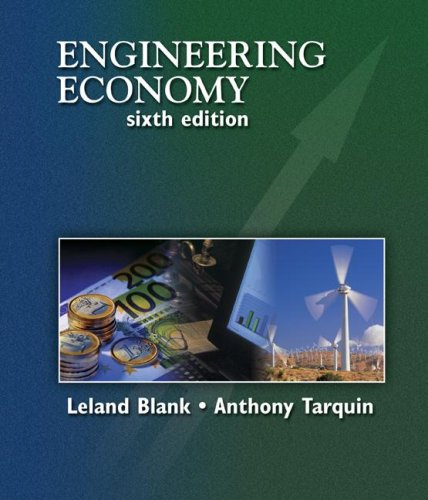 9780072918632: Engineering Economy (Mcgraw-Hill Series in Industrial Engineering and Management Science)