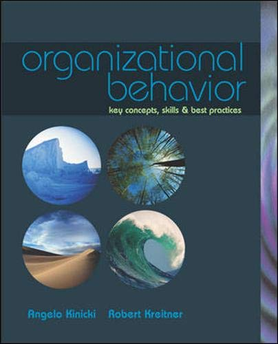 9780072918892: Organizational Behavior: Key Concepts, Skills, & Best Practices with Student CD and Management Skill Booster Card