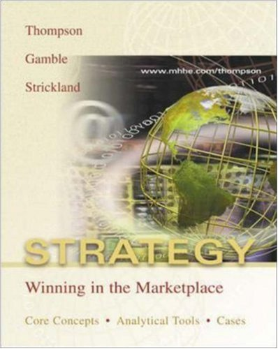 9780072918953: Strategy: Core Concepts, Analytical Tools, Readings w/PowerWeb and Case-TUTOR download code card