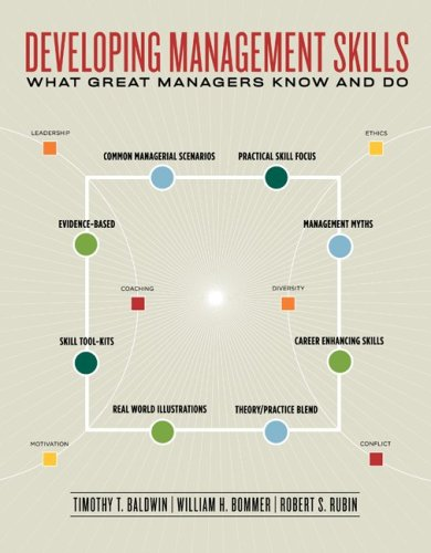 9780072920109: Developing Management Skills:  What Great Managers Know and Do