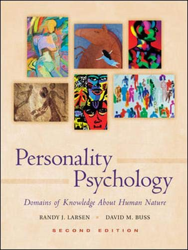 9780072920499: Personality Psychology: Domains of Knowledge About Human Nature