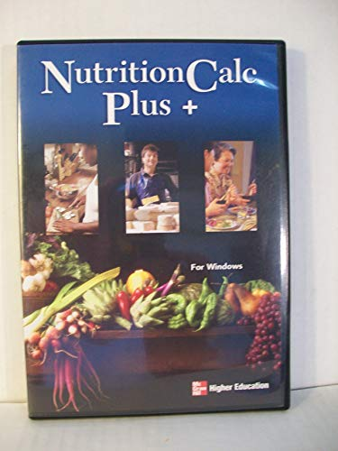 9780072921090: Nutritioncalc Plus CDROM Packaged Version