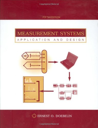 9780072922011: Measurement Systems : Application and Design