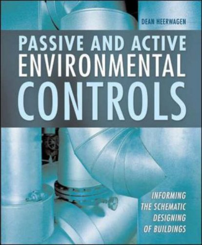 9780072922288: Passive and Active Environmental Controls: Informing the Schematic Designing of Buildings