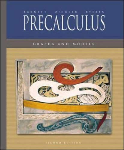 9780072922332: Mandatory Package: Precalculus: Graphs and Models w/ MathZone
